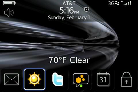 Closeup of Bold 3G