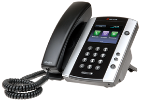 Photo of Polycom VVX 500 phone