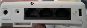 103H access point - use E1 port