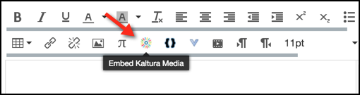 Upload and share video in Canvas with Kaltura