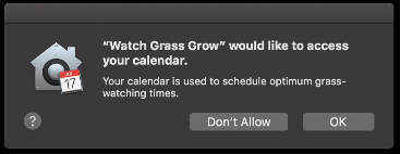 Known issues with macOS 10 14 (Mojave) at IU
