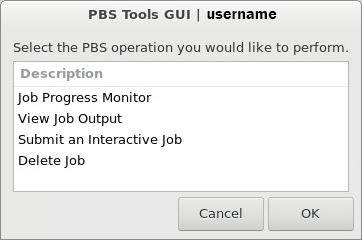 RED PBS tools GUI