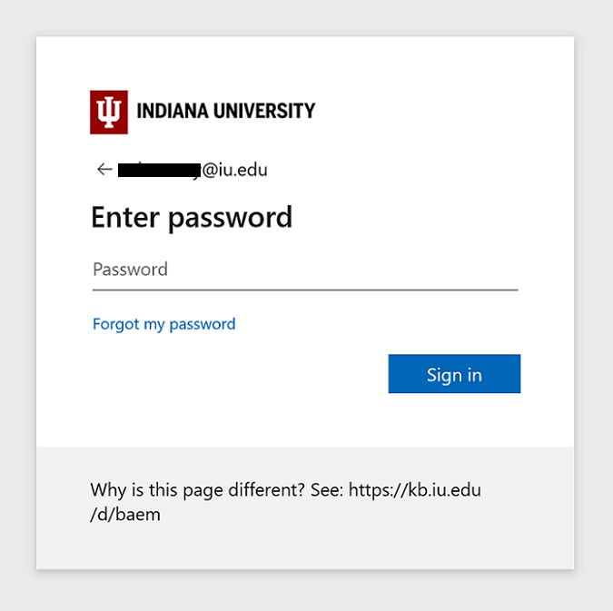 Office 365 login prompt