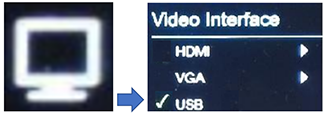 Set HoverCam Ultra 8 to USB video output