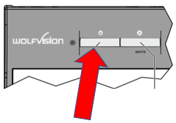 Power button on the WolfVision VZ-8light4