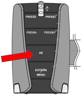 AF (autofocus) button on the WolfVision VZ-8light4