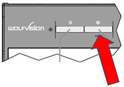 Lamp button on the WolfVision VZ-8light4