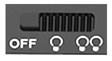 Light control button on Hovercam Solo 8