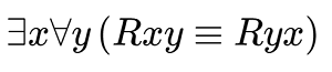 A logic formula as rendered by MathJax. The text for how this formula would be read follows.